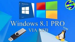 Como baixar e formatar o pc com o Windows 8.1 PRO pelo pendrive.