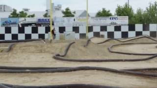 1/8 E Buggy Heat 2 Group 2 Jax Trax RC Raceway 7-2-2016