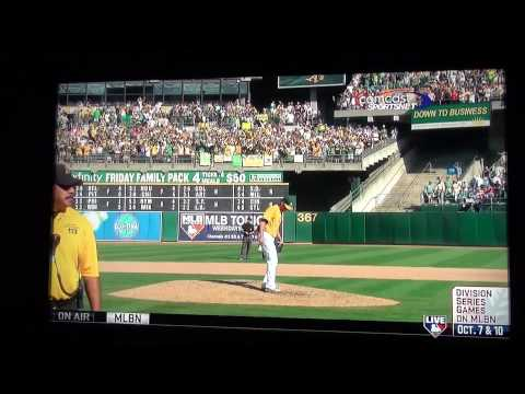 A's Balfour Rage and Pennant Clinch
