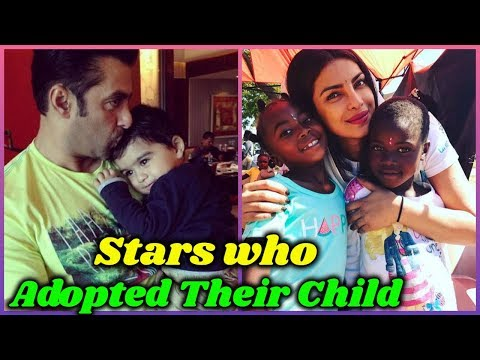 10 Bollywood Stars Who Adopted Kids