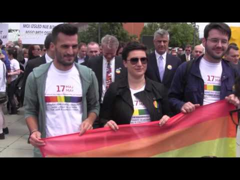 LGBT Activists March With Politicians In Bosnia And Kosovo