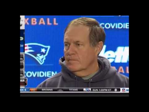 Bill Belichick Is he ready for Cincinnati? I don't think so!
