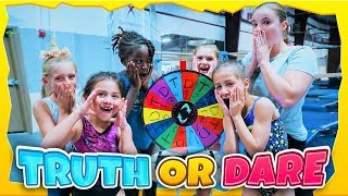 Gymnastics Truth Or Dare Mystery Wheel Challenge| Rachel Marie