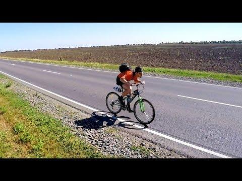 Реактивный велосипед №2 - Русская забава
