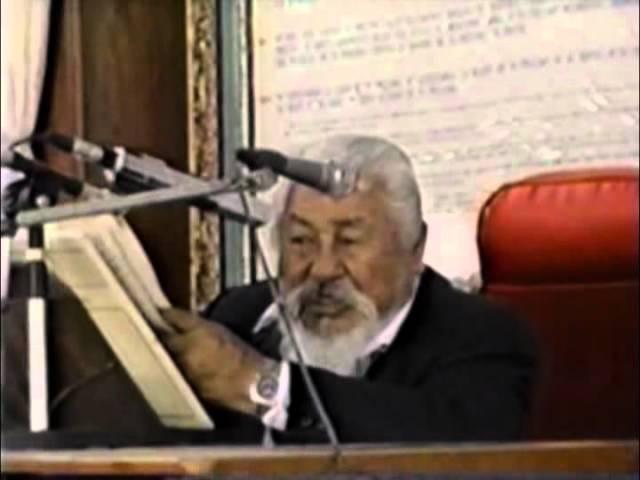 PREDICA : DEL  MAESTRO EZEQUIEL  ATAUCUSI  GAMONAL  (AEMINPU)