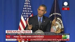 Obama: Rusya, Suriye'deki Muhalif Grupları Hedef Almayı Bırakıp IŞİD'e Yoğunlaşmalı