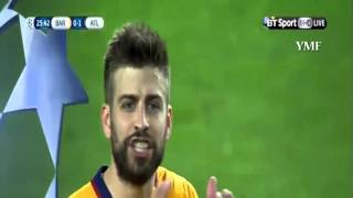 Barcelona vs Atletico Madrid 2 1 EXTENDED English Version 6  4  2016   YouTube
