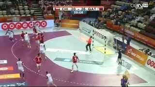 قطر تتخطى تشيلي ببطولة العالم لكرة اليد