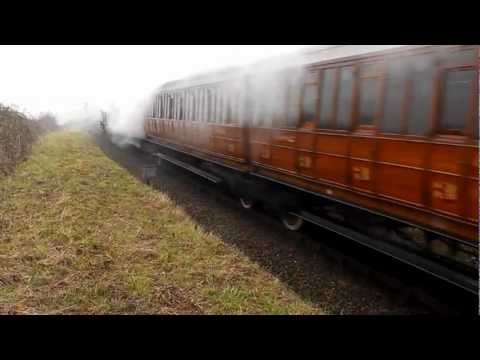 NNR's Raising The Standard Steam Gala 8th 9th 10th March 2013 Part 1