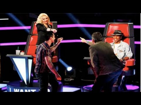 The Voice 7 USA 2014 - Gwen Stefani & Pharrell Williams Fight ( Sneak Peek Released )