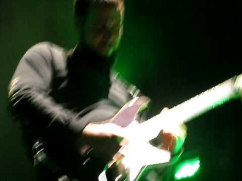 Rob Arnold Playing 'Worthless' solo at Chimaira Christmas 9
