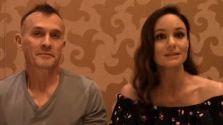 Prison Break - Sarah Wayne Callies, Robert Knepper Interview (Comic Con)