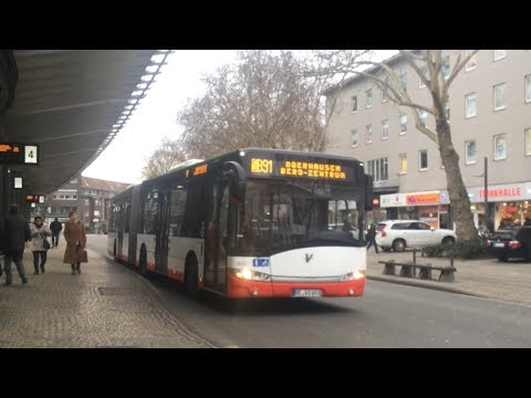 (SOUND) RE-VS-693 (KOM 2693) Solaris-Urbino 18-lll Vestische Straßenbahnen [Bj.2012] | ZOOM-H2