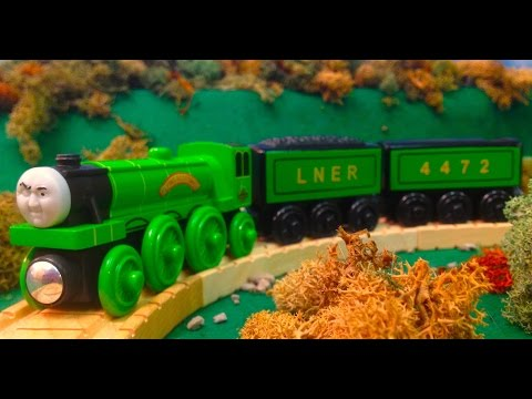 Wooden Railway Reviews - 2013 Flying Scotsman