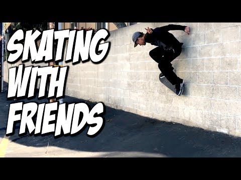 SKATING WITH FRIENDS !!! - NKA VIDS -