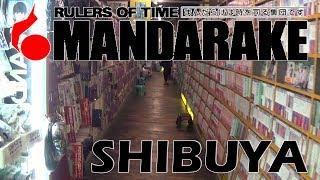 Mandarake de Shibuya en Tokio | Visita a la Tienda | Cartas de los 80-90 y Figuras!