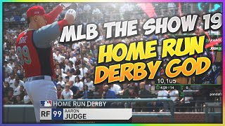 Becoming The Home Run Derby God! - MLB: THE SHOW 19