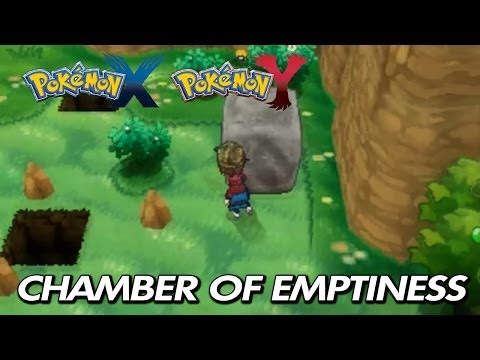 Pokemon X & Y - Where To Find chamber Of Emptiness & Tm26 Earthquake video