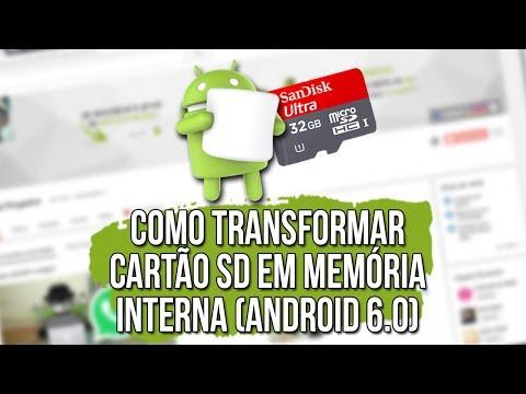 [NOVO MÉTODO 2016] Transformar CARTÃO SD em MEMÓRIA INTERNA
