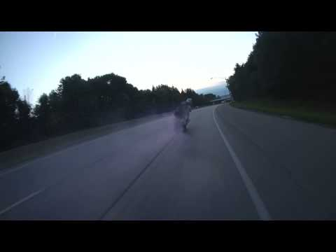 Drifting on the highway!