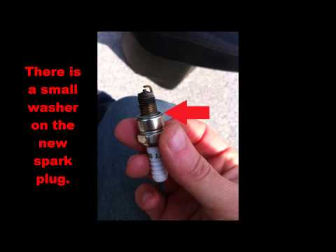49cc Chinese Scooter Spark plug and CDI Replacment
