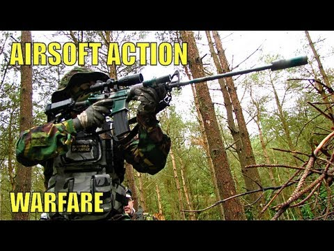 Airsoft War MP5. SG552. Scar. UMP (UMG) POW Scotland