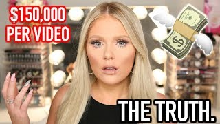 The TRUTH About The Beauty Community | How Much YouTubers Make & Meeting Big YouTubers