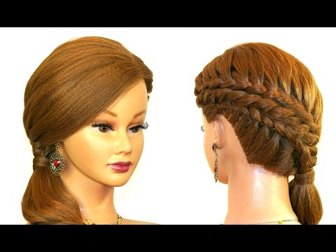 Hairstyles For Long Hair Download Video : Download Braided Updo Hairstyle For Medium Long Hair. Video to 3gp ...