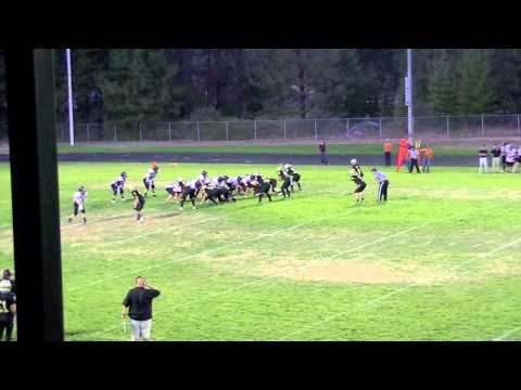 Deandre Harris #55 Junior at Rogue River High School, Rogue River Oregon