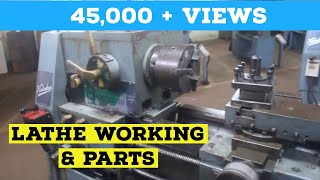 Explain Lathe And Its Components  Mechanical Lab P