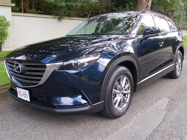2017 Mazda CX 9 Review-LOOK OUT HONDA PILOT AND ... - YouTube