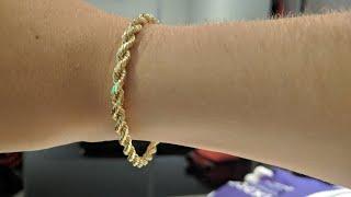 14kt Rope Bracelet - Jacoje Unboxing