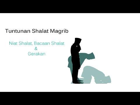 Gambar doa sholat magrib