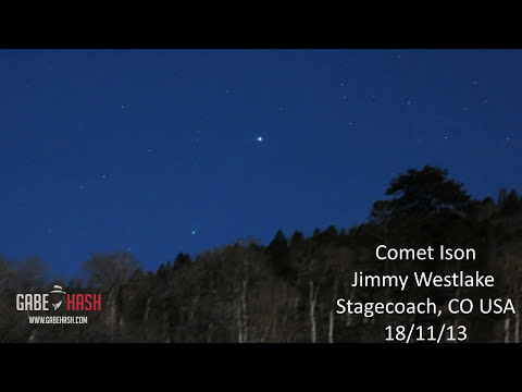 FIRST IMAGES COMET ISON