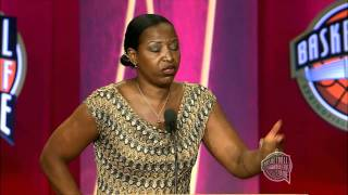 Cynthia Cooper-Dyke's Basketball Hall of Fame Enshrinement Speech