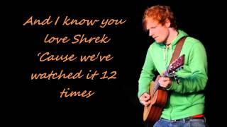Ed Sheeran - Wake Me Up Lyrics