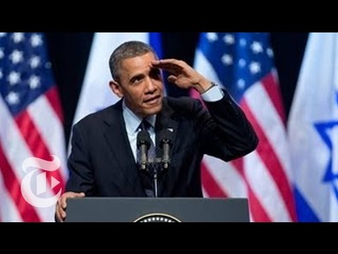 Obama Heckled During Speech to Israeli Youth - 2013