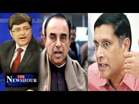 Swamy Targets Arvind Subramanian After Raghuram Rajan: The Newshour Debate (22nd June 16)