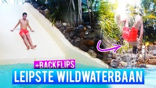 WILDWATERBAAN & BACKFLIPS - ACHTERNA GEZETEN DOOR SECURITY!?