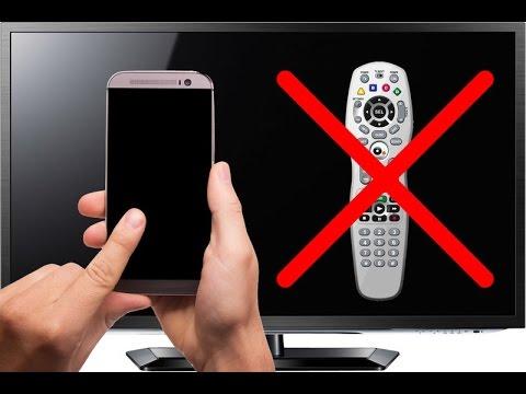 Cellulare Come Telecomando TV [TUTORIAL] - Come Usare Il Cellulare Come Telecomando