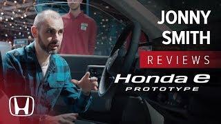Jonny Smith Reviews Honda e Prototype at Geneva Motor Show 2019
