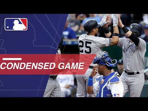 Condensed Game: NYY@KC - 5/20/18
