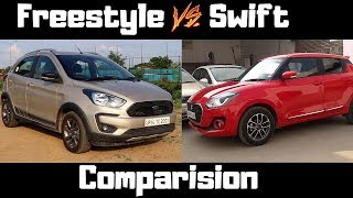 Ford FREESTYLE vs SWIFT : Best comparision | frestyle vs swift | swift | fresstyle