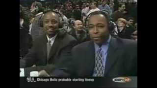 Michael Jordan Last game getting standing ovation in Chicago