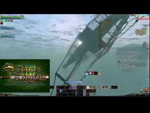 ArcheAge - My merchant ship the paddle boat.
