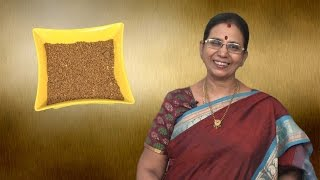 Sambar Powder in Tamil  | Mallika Badrinath Recipes | South Indian Style