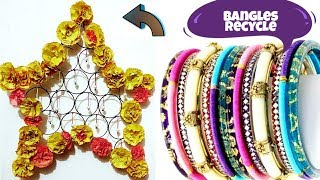 How to reuse old Bangles| Recycle Old Bangles| Best out of waste Bangles ideas