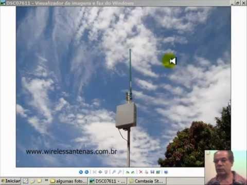 Antena wireless omni 25 dbi longo alcance