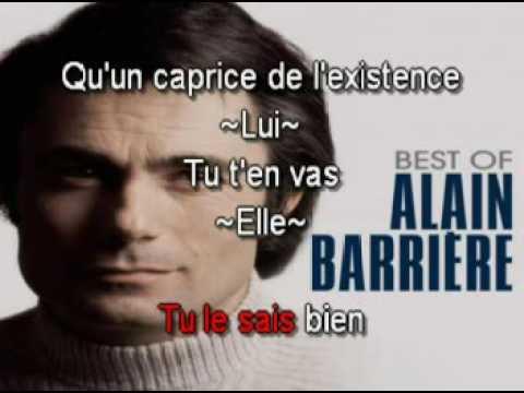 Alain Barrière & Annie Cordier   Tu T'en Vas