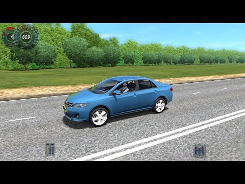 City Car Driving 1.3.3 Toyota Corolla 2013 [1080p]